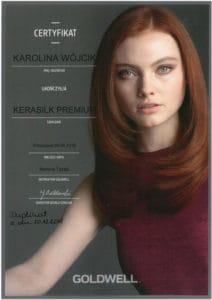 Kerasil premium - szkolenie fryzjerskie Goldwell
