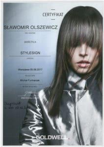 Stylesign - szkolenie fryzjerskie Goldwell